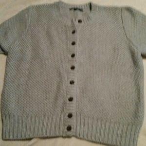 Gap chunky short sleeve cardigan